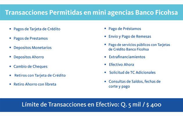 Banco Ficohsa Multipagos La Torre Zona 2 - foto 1