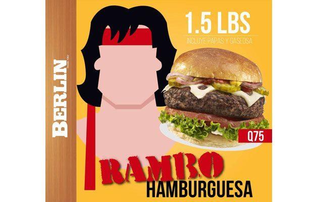 Hamburguesas Berlin Plaza Florida - foto 1