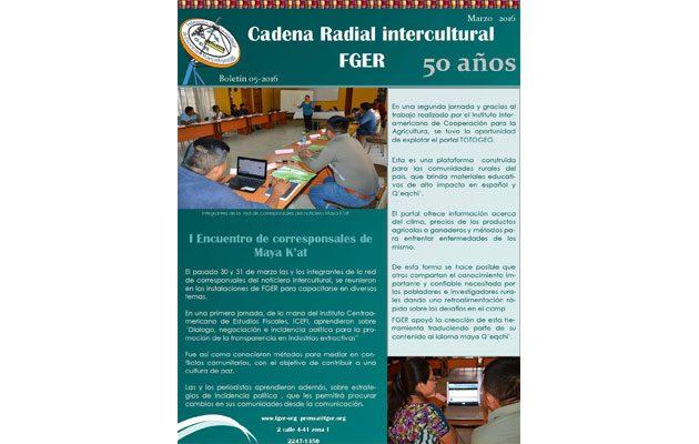 Cadena Radial FGER - foto 2