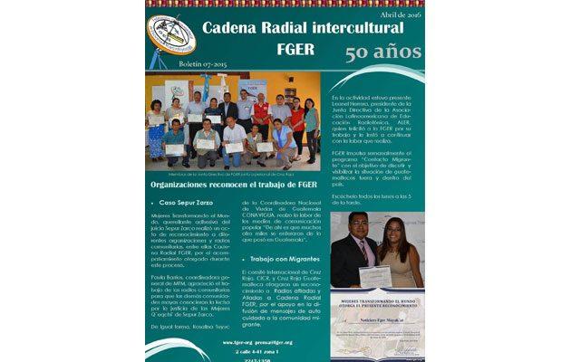 Cadena Radial FGER - foto 1