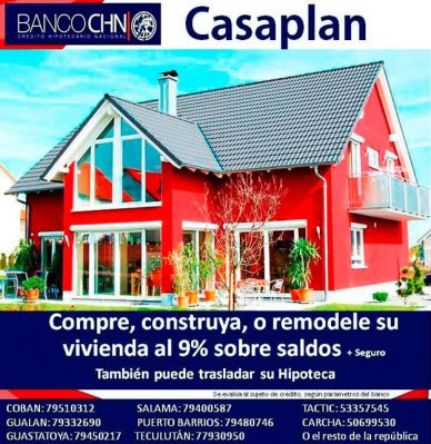 Banco CHN Agencia El Progreso Jutiapa - foto 1