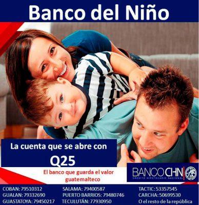 Banco CHN Agencia La Trinidad Coatepeque - foto 1