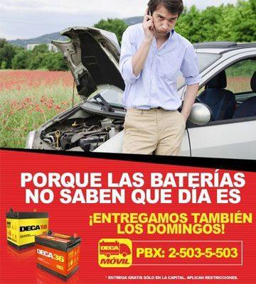 Baterías Deca Zona 11 - foto 1