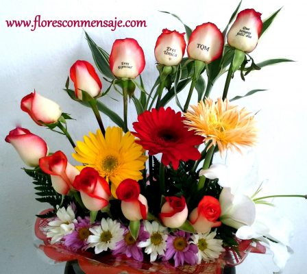 Flores Con Mensaje - foto 1