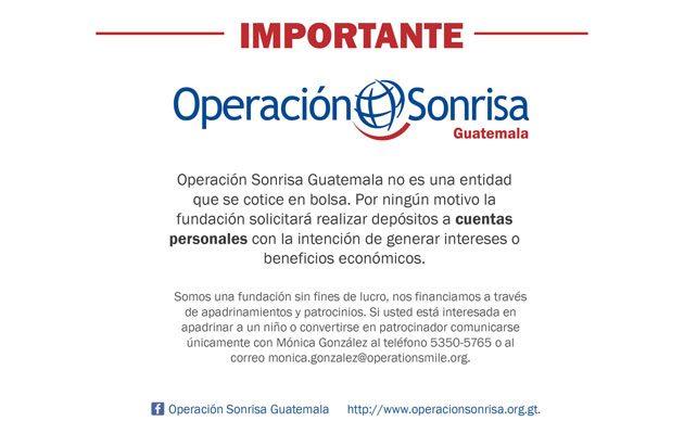 Operación Sonrisa Guatemala - foto 1
