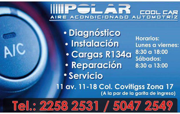 Polar Cool Car Aire Acondicionado Automotriz - foto 1